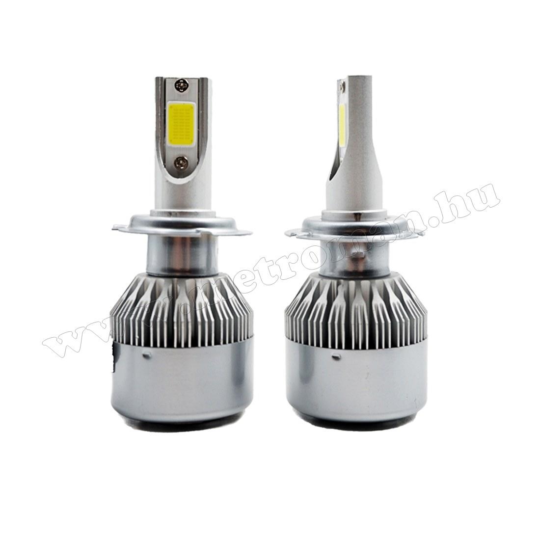 Autós H7 LED reflektor izzó szett 30 W MLED-H7-4300K