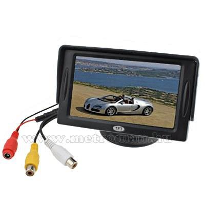 "LCD monitor tolatókamerához, 4,3"" MM-0327"