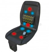 3 az 1-ben Ülésfűtés, Ülés szellőztetés és masszázsülés Autós ülésborító MM-9249