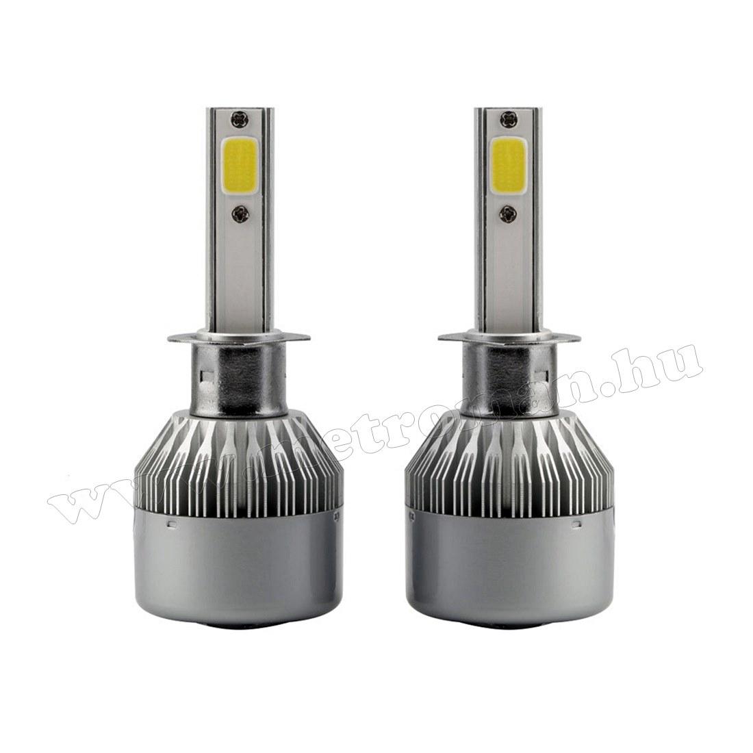 Autós H1 LED reflektor izzó szett 30 W MLED-H1-4300K