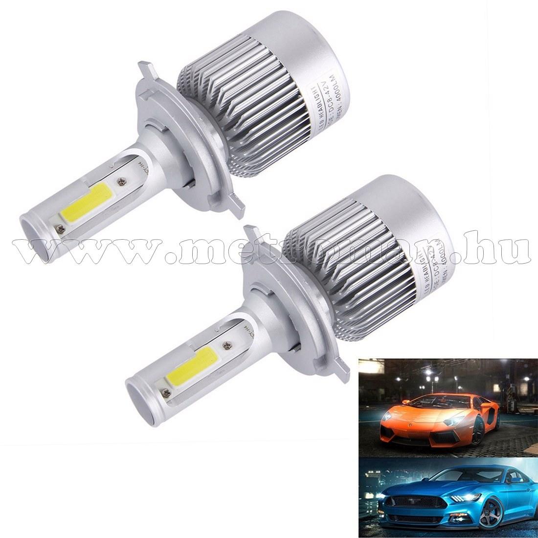 Autós H4 LED reflektor izzó szett 36 W MM-6543WL