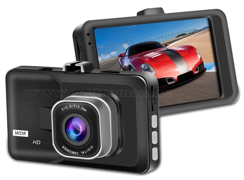 Autós menetrögzítő kamera MM338DVR-HD