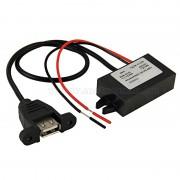 Beépíthető, autós USB töltő 3 Amper, MM-1233
