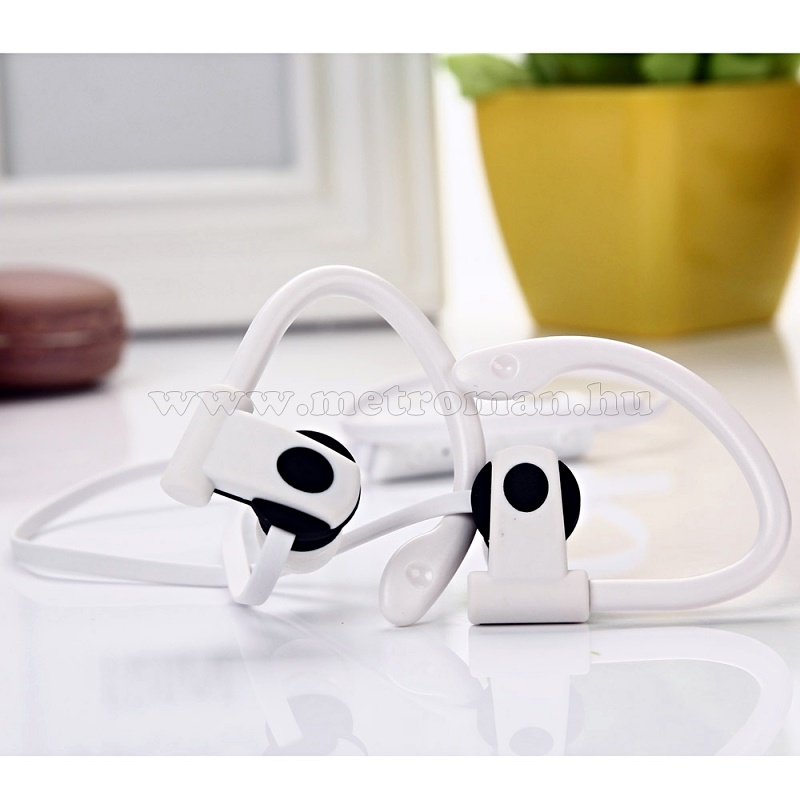 Sztereó Bluetooth Sport headszett és fülhallgató M790 Fehér
