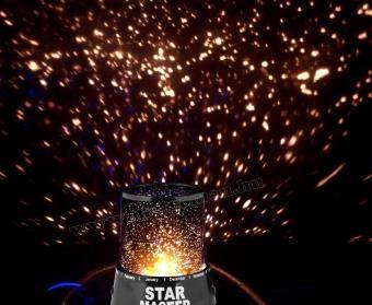 Csillagos égbolt RGB LED projektor SM129