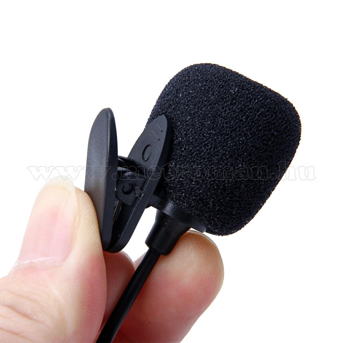 Csíptethető mini mikrofon M6499