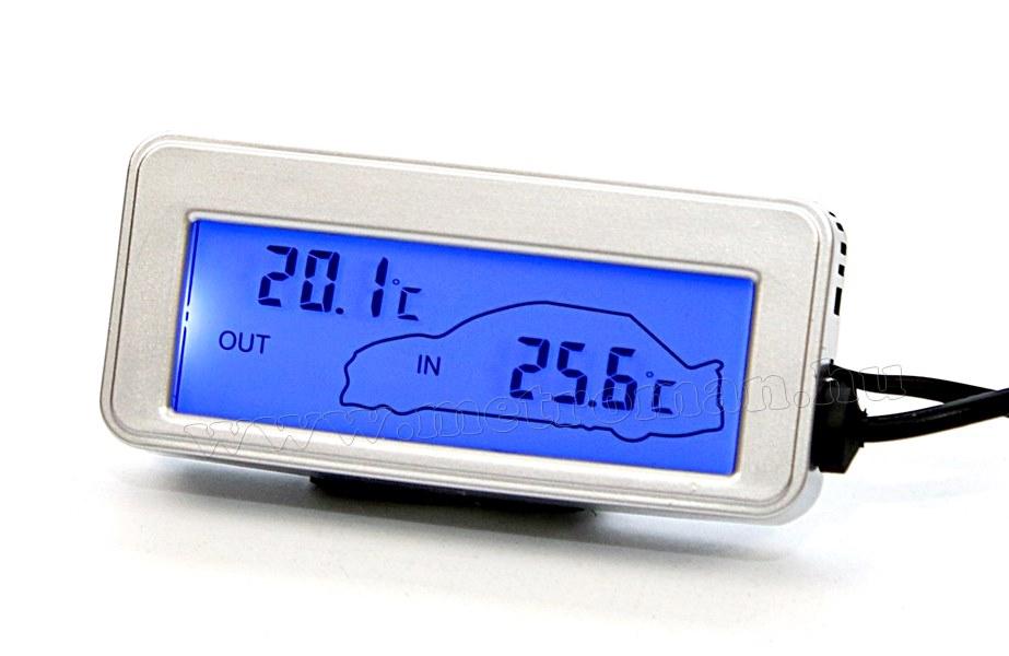 Digitális autós külső-belső hőmérő Mlogic M113