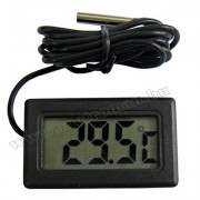 Digitális LCD hőmérő műszer -50 - + 70 °C-ig , Mlogic MA-1108
