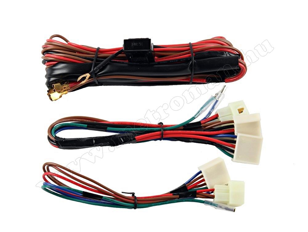 Univerzális elektromos ablakemelő szett, 2 ablakhoz, 2+1-es kapcsolószettel M6003A