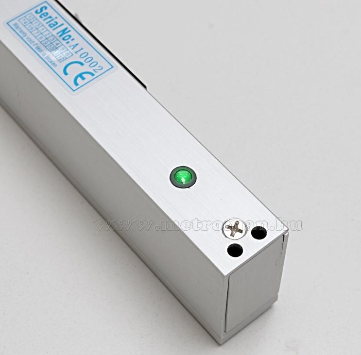 Elektromos síktapadós mágneszár felületre szerelhető 280kg M-280LEDA