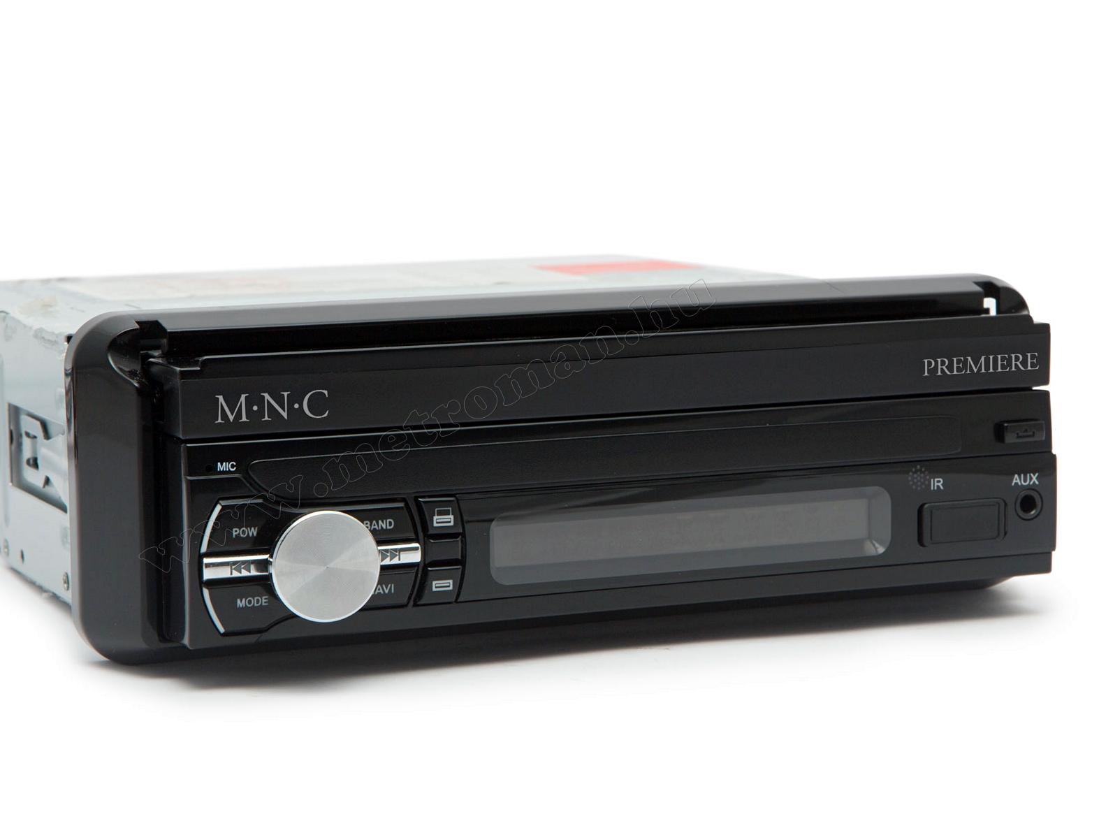 LCD érintőképernyős USB/SD Bluetooth Android Multimédia fejegység GPS navigációval MNC Premiere