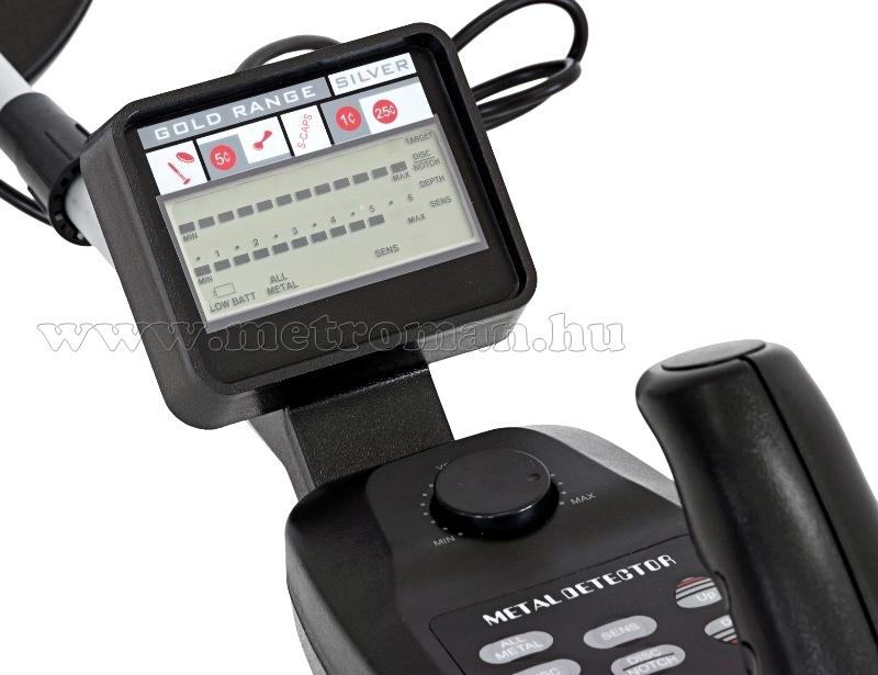 Fémkereső, Fémdetektor, Mlogic MD-3500 LCD