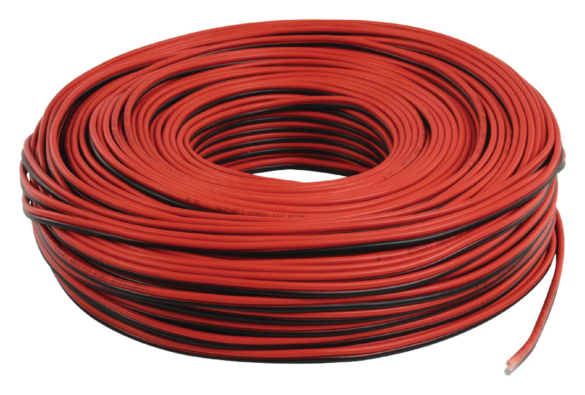 Hangszóróvezeték 2 X 0,5 piros-fekete LSP-012R 100 méteres