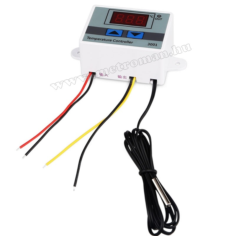 230 Voltos hőmérséklet kapcsoló -50 - +110 Cfok MM3001-230V