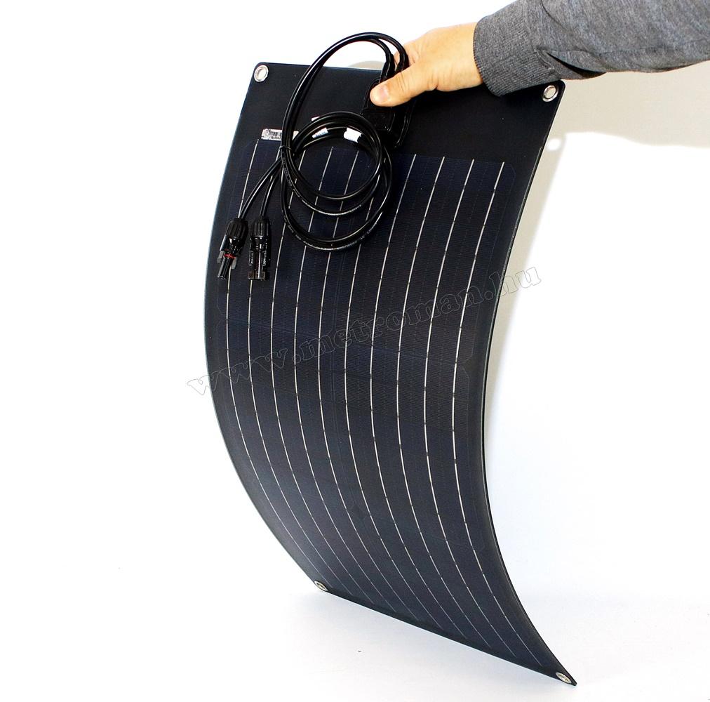 Flexibilis napelem, félig hajlékony napelem FG-FLEX25W