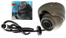Kamion, Busz megfigyelő kamera, tolatókamera MC403 4PIN 12/24V