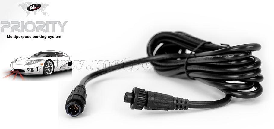 Szenzor hosszabbító kábel, Al-Priority lézerdetektor és blokkolóhoz ALPkieg01