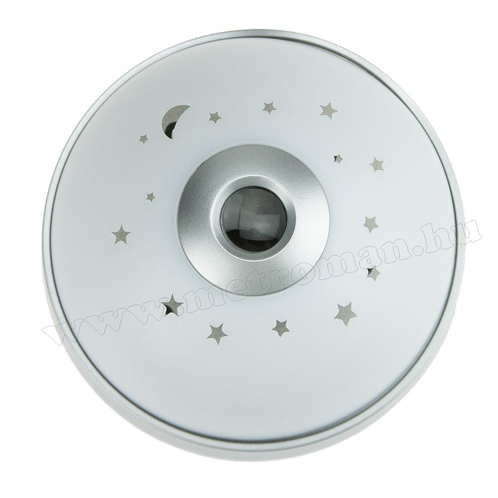 Kivetítős óra RGB LED csillagos ég hangulatvilágítással MK236