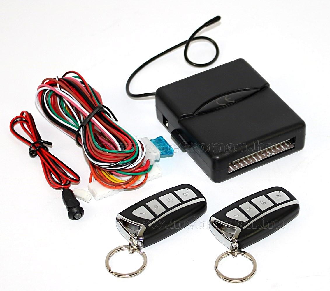 Központizár vezérlő távirányító szett S60