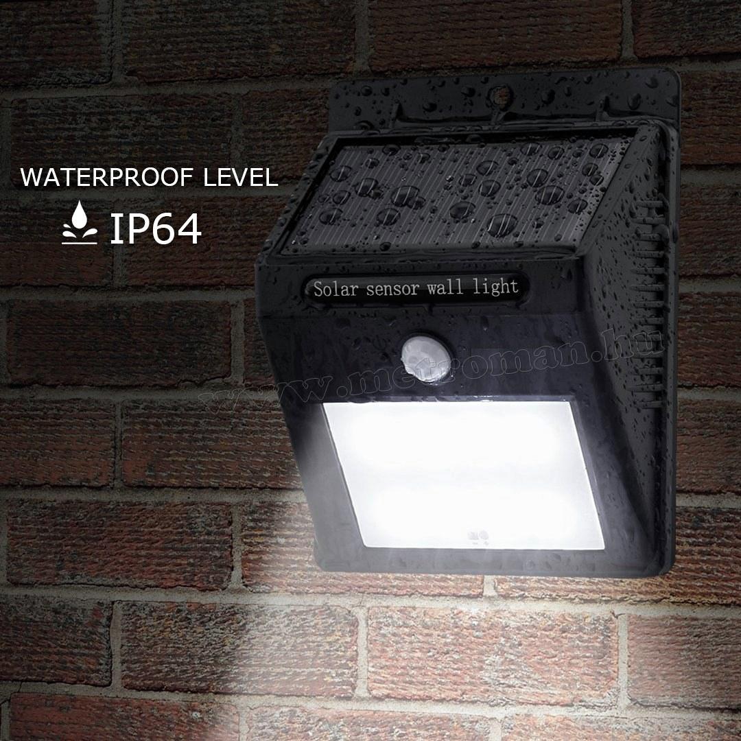Napelemes mozgásérzékelő LED reflektor BW3