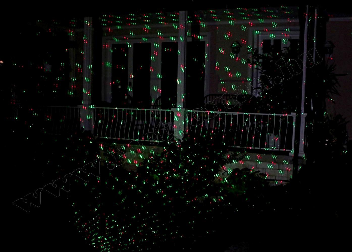Kültéri színes Lézer fény projektor, kerti hangulat világítás MDL-917