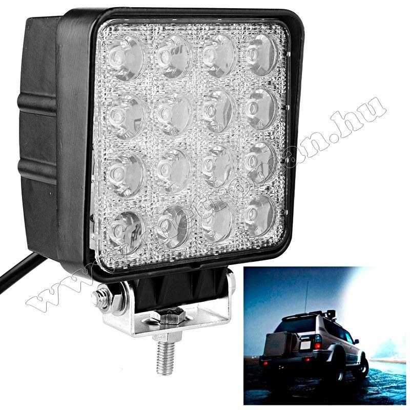 Autó LED fényszóró, LED munkalámpa 48 Watt,ML29-48W