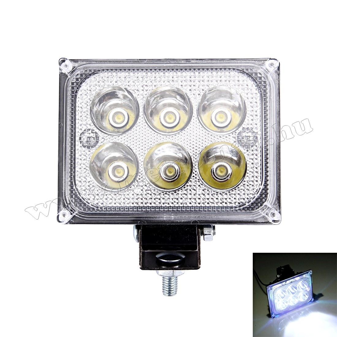 Autó LED fényszóró, LED munkalámpa 18 Watt , MLD39-18W