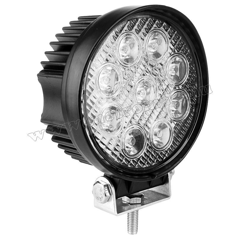 Autó LED fényszóró, LED munkalámpa 27 Watt, ML05-27W