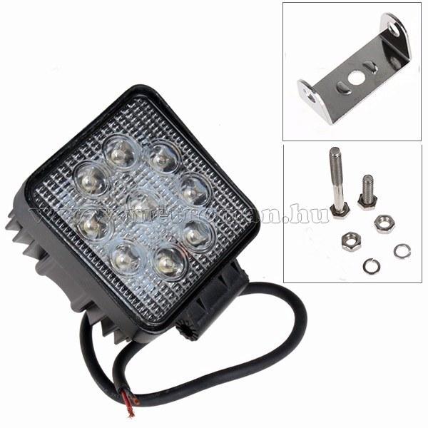 Autó LED fényszóró, LED munkalámpa 27 Watt, ML06-27W