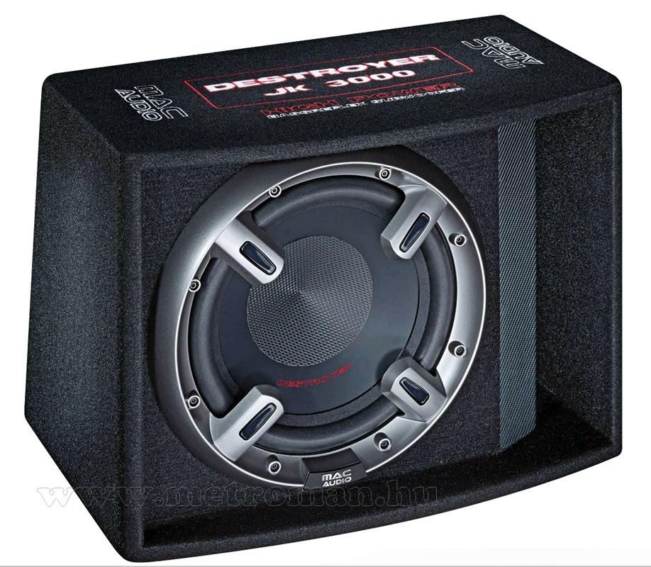 macAudio Destroyer JK3000 Autós Bass Reflex mélynyomó láda