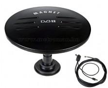 Mágnestalpas DVB-T autós, hajó és lakókocsi TV antenna, Mlogic DVB-T-945USB