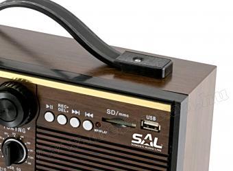 Retro táska rádió MP3 lejátszóval és kazetta digitalizálóval RRT 11B