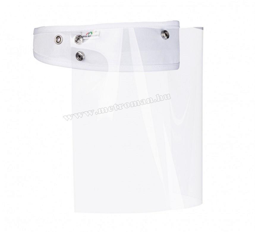 Maszk, Arcvédő plexi fejpánttal MM1080-EX 10 db-os csomag