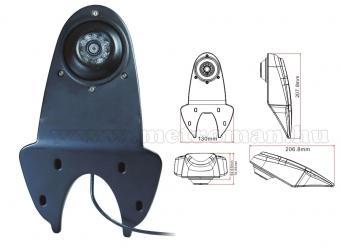 "Mercedes Sprinter, VW Crafter tolatókamera szett, 7"" LCD monitorral"