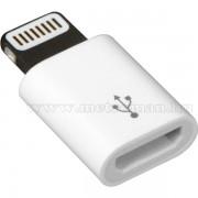Micro USB / iPhone töltő és adatkábel adapter M849