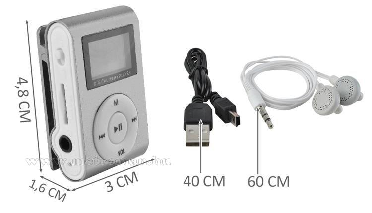 Mini MP3 lejátszó Mlogic M6610 LCD