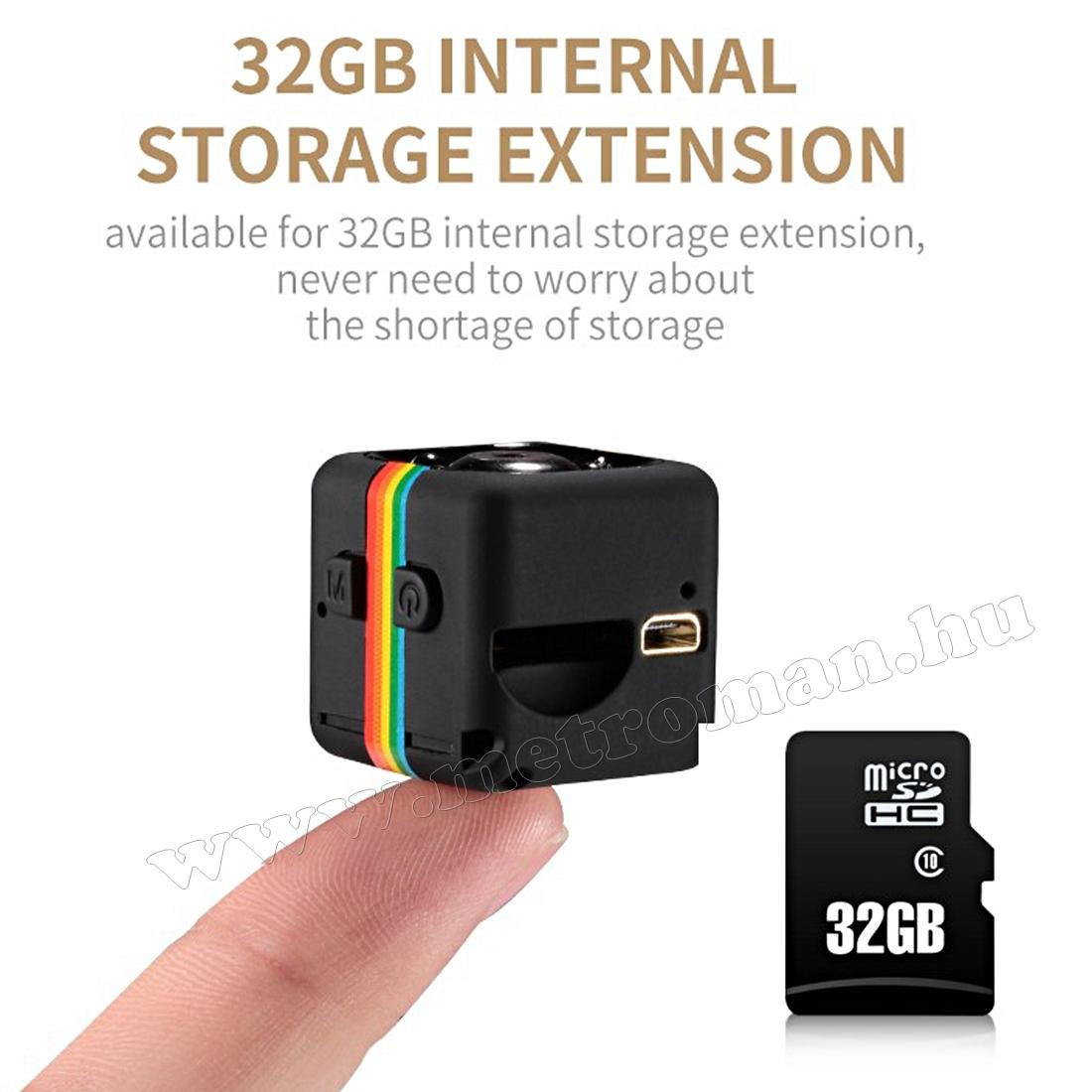 Ultra mini digitális SD video kamera, hobbi és sportkamera SQ11 FHD
