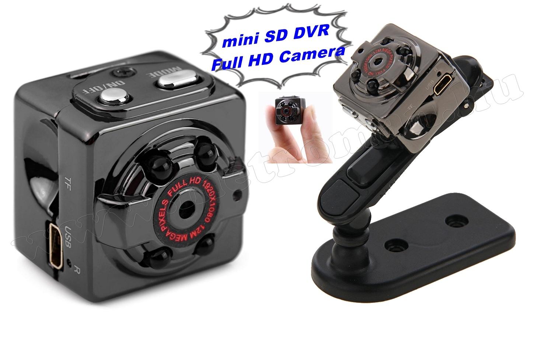 Ultra mini digitális SD video kamera, hobbi és sportkamera SQ8 FHD