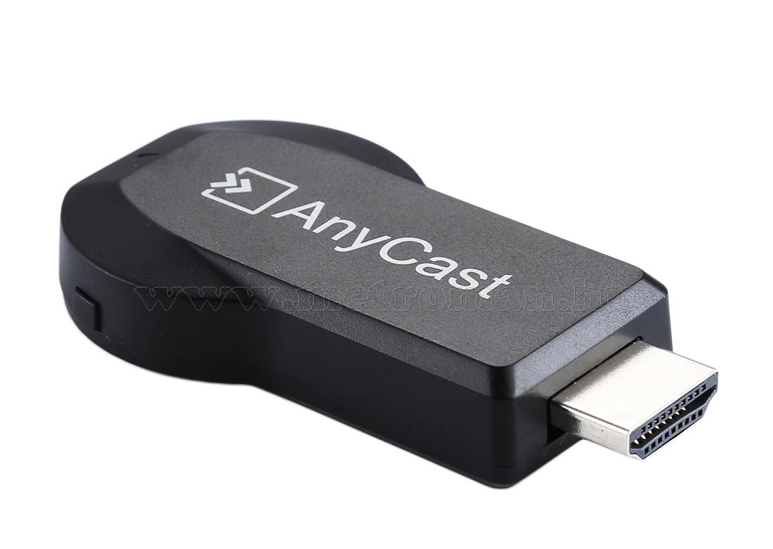 Miracast iOS Android Képernyő tükröző AnyCast M2Plus
