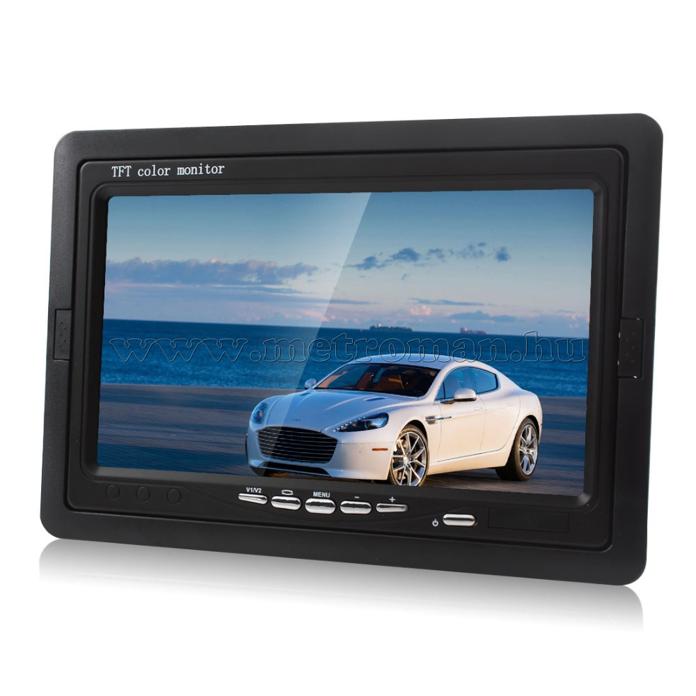 "Autós 7"" TFT LCD monitor Mlogic MM-0104"