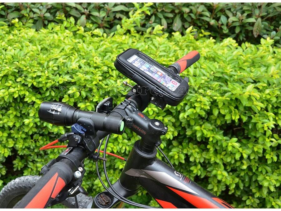 Kerékpáros, motoros  telefontartó M888/S