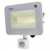 Mozgásérzékelős LED reflektor, LED fényvető, 30 Watt APPLE-30WPIR