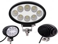 Autó LED fényszóró, LED munkalámpa E-jeles 20W M5024C