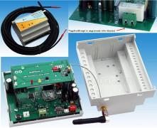 GSM hőmérő, hőmérséklet riasztó és fűtés távirányító MobilTherm-2-mC