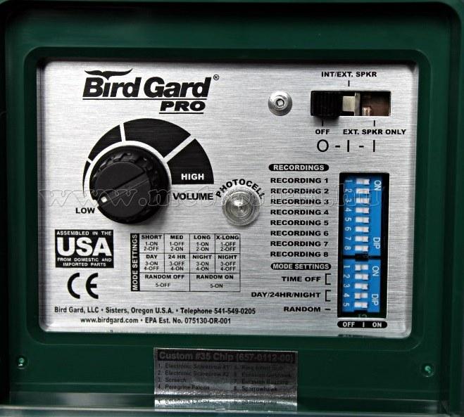 Nagy teljesítményű elektromos madárriasztó Bird Gard Pro