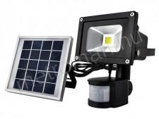 Napelemes, mozgásérzékelős LED reflektor M5357