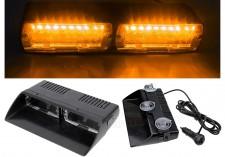 Autós Sárga stroboszkóp LED villogó szélvédőre, Mlogic M5390Y