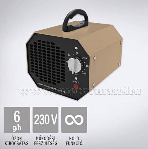 Ózongenerátor Fertőtlenítő Szagtalanító Lég és Klíma tisztító készülék MLH-160-6G