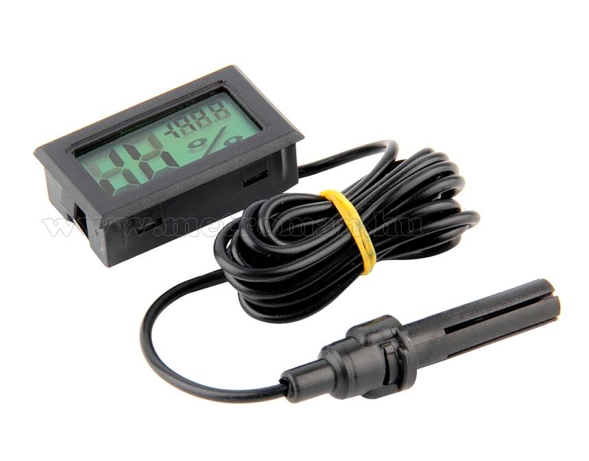 Digitális páratartalom mérő és hőmérő MG195A