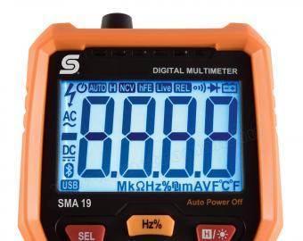 Multifunkciós Digitális multiméter SMA 19